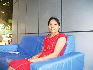 我院为子宫肌瘤患者曹彩英提供全免治疗