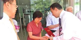 欧阳惠卿教授受聘为五洲客座教授