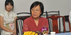 欧阳惠卿教授参加五洲会议