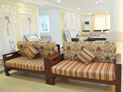 温馨舒适的康复科休息区