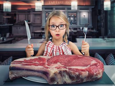 为什么爱吃肉的孩子要么不长个,要么胖